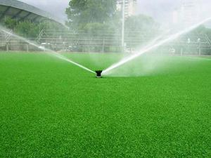 Sistema de Irrigação com Aspersores