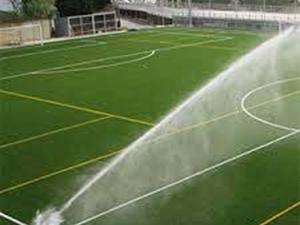 Sistema de Irrigação Automatizado para Campo de Futebol