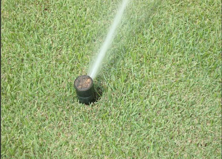 Sistema de Irrigação para Gramados Esportivos